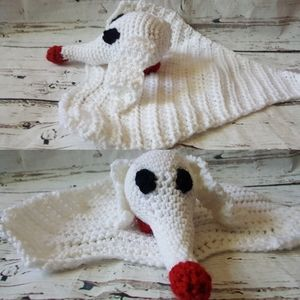 Zero Ghost Dog Amigurumi/Security Blanket